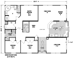 triple wide mobile homes floor plans floor plans for trailer homes spurinteractive com