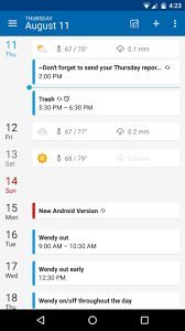 best free calendar apps for android drippler apps games