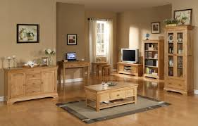 furniture comfort living room with wooden furniture by applying