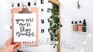 diy quick and easy inspired aesthetic room decor youtube