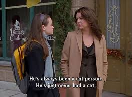 he s always been a cat person gilmore quotes season 3