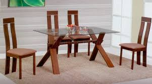 glass top dining table set 4 chairs the most great glass top dining tables and chairs small glass top