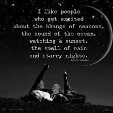quote excitement i like people who get excited about the change of seasons the