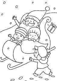 santa kids pictures kids playing santa claus coloring
