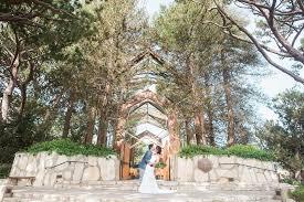 wayfarer chapel wedding intimate wayfarers chapel wedding julian brandi