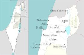 Map Israel Template Location Map Israel North Haifa Wikipedia