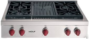 Wolf 15 Gas Cooktop Wolf Gas Cooktops