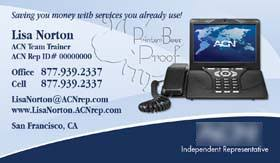 Business Cards San Francisco Acn Business Cards 1000 Acn Business Card 59 99