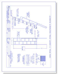 Alternate Tread Stairs Design Alternating Tread Stairs Precision Ladders Llc Caddetails
