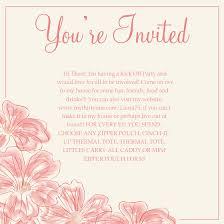 Party Invitation Wording Thirty One Invitation Wording Thirty One Invite Samples Party