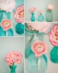 Tiffany Blue Vase Casamento Rosa E Turquesa Ideias E Inspirações Vase Ideas