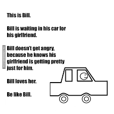 Angry Girlfriend Meme - bill is waiting in his car for his girlfriend bill doesn t get