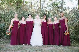 maroon dresses for wedding malinda sergio s wedding rock maryland natalie franke
