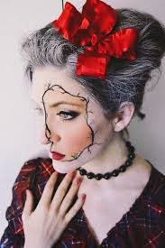 halloween makeup tutorial porcelain doll youtube