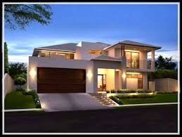 modern small house exterior design house modern
