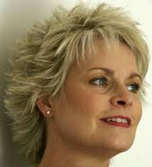 short hairstyles for women over 50 fine hair new short spikey