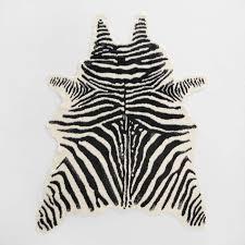 Zebra Area Rug Zebra Rugs Black And Ivory Faux Zebra Hide Area Rug Home Rugs Ideas