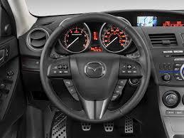 mazda steering wheel 2012 mazda mazdaspeed3 steering wheel interior photo automotive com