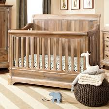 Crib Converts To Bed Bertini Pembrooke 4 In 1 Convertible Crib Rustic