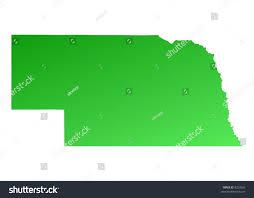 Nebraska Map Usa Nebraska Map Airports In Nebraska Nebraska Airports Map Maps