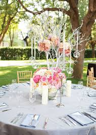 centerpieces for round tables including wedding reception table