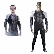 Hunger Games Halloween Costumes Aliexpress Buy Hunger Games Peeta Mellark Jumpsuit