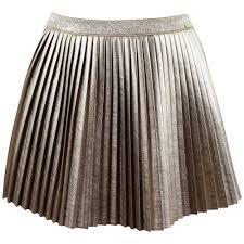 pleated skirt mayoral pleated skirt gold 4 913 090 designer childrenswear