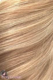 Blonde Hair Extensions Clip In by Latte Blonde Seamless Deluxe 20