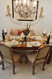 five ways to set the thanksgiving table 2 a chair