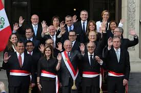 Cabinet President New Cabinet In Peru Vice President Aaroz To Be Pm