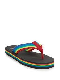 saint laurent rainbow thong sandals for men lyst
