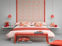 coral bedroom walls home decorating inspiration pertaining to