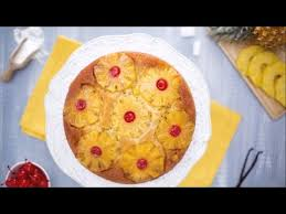 pineapple upside down cake recipe youtube