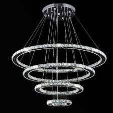 Sports Ceiling Light Vallkin Modern Led Ring Chandelier Pendant L