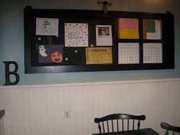 kitchen bulletin board ideas the modern cottage company message board out of old screen door
