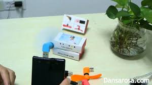 fan with usb connection mini usb fan for cellphone plug play youtube