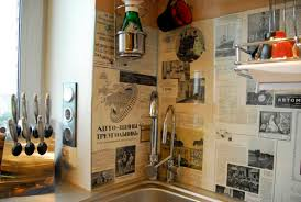 Kitchen Wall Design Ideas Pictures Decorating A Kitchen Wall Free Home Designs Photos
