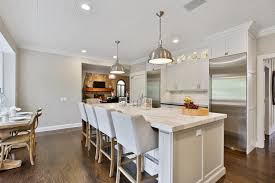 white kitchen islands with seating the white kitchen perfected wall township new jersey by design