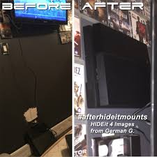 clean gaming setup ps4 wall mount hideit 4 floating wall