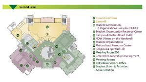 administration office floor plan floor plans popp martin student union unc charlotte