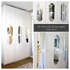 Mirror Closet Door Repair Ikea Hack Pax Wardrobe Turn Your Ikea Wardrobe Into A Chic