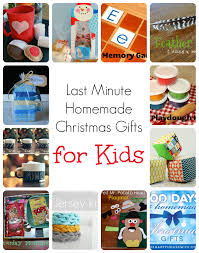 Homemade Christmas Gifts by Last Minute Homemade Christmas Gifts For Kids The Happy