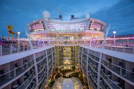 a number of unique royal caribbean features
