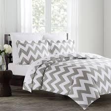 com echelon home chevron duvet cover set fullqueen image on incredible all white bedding for ztofpbovl sl