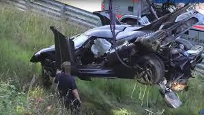 koenigsegg one 1 crash uno de los siete koenigsegg one 1 en existencia sufrió un