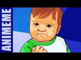Triumphant Baby Meme - success kid i hate sandcastles know your meme