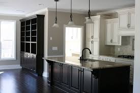 modern kitchen kitchen paint colors with oak cabinets and white