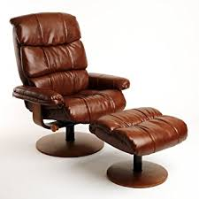 Vintage Leather Recliner Amazon Com Mac Motion Chairs Swivel Recliner With Ottoman