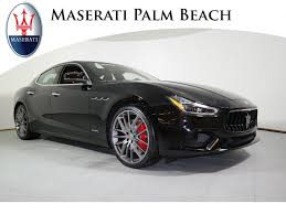 maserati ghibli black new maserati for sale inventory west palm beach fl maserati