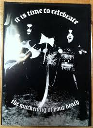 black metal greeting cards for the troo kvltist in your life